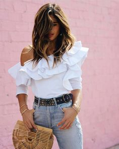 Perfect Saturday Look Fashion Design Design - Qoster Trend Fashion, Look Fashion, Fashion Outfits, Womens Fashion, Fashion Design, Daily Fashion, Fashion Styles, Summer Outfits, Casual Outfits