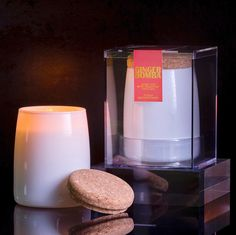 Ginger Bomba Scented Long Lasting Soy Candle by Aesthetic Content