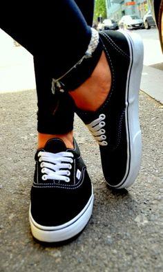 ¡Vans! Unas zapatillas street style muy callejeras