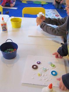 Button Collage by Teach Preschool