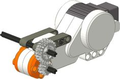 Nice example of how to add gears to an axle