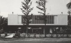 Paul Rudolph - NCMH Modernist Masters Gallery1956 - The Sewell C. Biggs Residence, 212 Seabreeze, Delray Beach FL. B/W photos by Ezra Stoller/Esto. Sold in 1973 to Virginia Courtenay, who still owned it as of 2012.