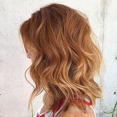 Ginger balayage