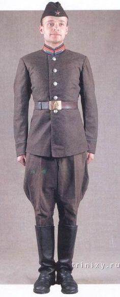 Uniformes del Ejército Rojo VII-9