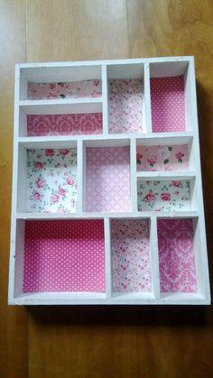 Letterbak 3 'roze'