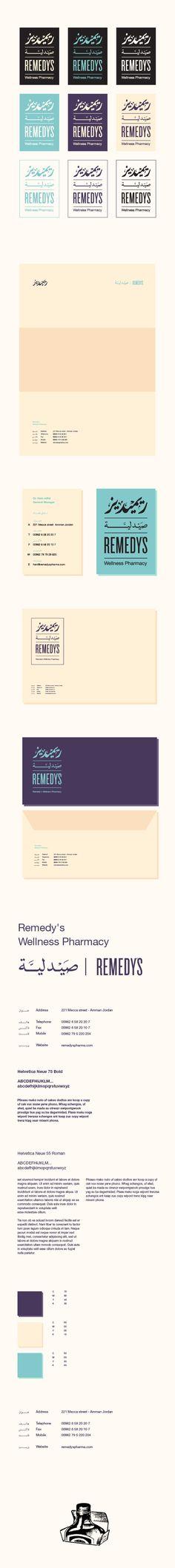 Remedy's Pharmacy on Branding Served