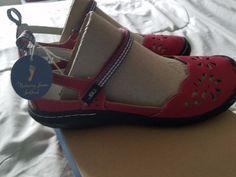 New in box JBU by Jambu Deep Sea Encore vegan sandals shoes red size 10 #Jambu #maryjane