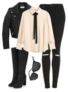 """Untitled #162"" by elissa713 on Polyvore featuring Topshop, Yves Saint Laurent, H&M, ASOS, HM and topshop"