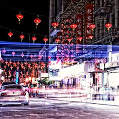 Ghosts of Chinatown Taken in Chinatown in San Francisco at night. San Francisco At Night, Ghosts, Surrealism, Times Square, Street, Pretty, Pictures, Travel, Photos