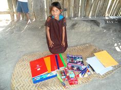 """""""Red and yellow, black and white, they are precious in His sight. Jesus loves the little children of the world!"""" With help from Christian Aid Mission, an indigenous ministry in #Peru provided school supplies to Ashaninka children."""