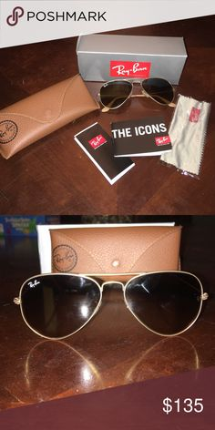 ray ban glass cleaner  ray ban aviators never been worn (only to try on). brand new ray
