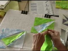 Dragon Fly Quilt Pattern - YouTube
