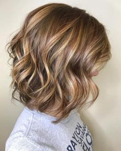 Long Wavy Ash-Brown Balayage - 20 Light Brown Hair Color Ideas for Your New Look - The Trending Hairstyle Brown Hair With Highlights And Lowlights, Golden Blonde Highlights, Brown Blonde Hair, Honey Highlights, Blonde Lob, Color Highlights, Highlight And Lowlights, Short Hairstyles With Highlights, Dark Hair