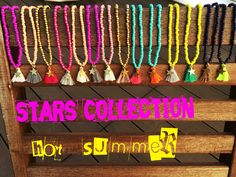 Stars necklaces for Kids @instagram by_neck