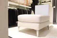 I so badly want a tufted bench seat in my room. Black or white?