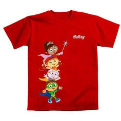 Super Why! Hip Hip Hurray! T-Shirt from PBS Kids Shop