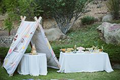 Whimsical California wedding   Photo by Paige Jones   Read more - http://www.100layercake.com/blog/?p=84190