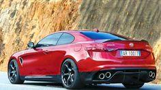 Alpha Romeo Giulia Coupe?