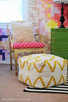 How to make an upholstered chair cushion