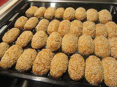 Greek Sweets, Greek Desserts, Greek Recipes, Easy Desserts, Cyprus Food, Greek Cookies, Cake Cookies, Greek Pastries, Chocolate Sweets
