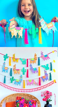 Snip stick and color your own DIY Llama garlands and decorate your home! These templates are in the wonderful new craft book - LLAMA CRAFTS by Ellen Deakin of Happythought. New Crafts, Book Crafts, Diy Crafts For Kids, Art For Kids, Arts And Crafts, Paper Crafts, Llama Birthday, Birthday Diy, Birthday Parties