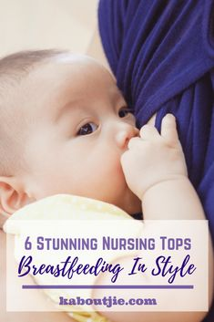 Nursing tops are an excellent option for breastfeeding as they contain no metal or plastic parts and many of them are suitable to wear at home or for sleep. There is a wide selection of styles available to choose from when shopping for nursing tops. Nursing Tank, Nursing Dress, Nursing Wear, Baby Hacks, Baby Tips, Mom And Baby, Baby Feeding, Parenting Advice, Baby Sleep