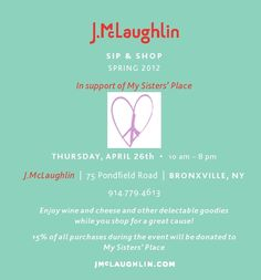 Come get some great clothes and support MSP on Thursday, April 26th!