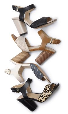 fashion cheap high-heeled shoes on line Fancy Shoes, Crazy Shoes, Me Too Shoes, Chunky Heels, Chunky Sandals, Shoe Boots, Shoes Sandals, Looks Chic, Shoe Closet
