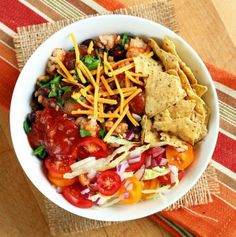 vegan taco bowl