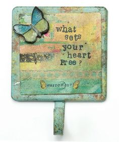 Another great find on #zulily! 'Your Heart' Wall Hook #zulilyfinds