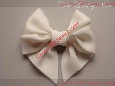 Название: Gumpaste bow tutorial 0.jpg  Просмотров: 0    Размер: 20.2 Кб
