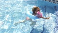 How to teach a toddler to swim!