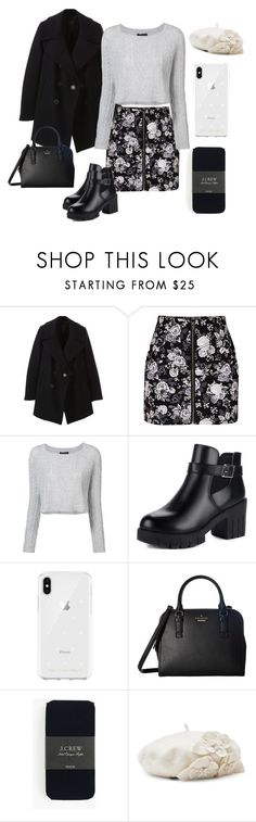 """""""Untitled #919"""" by lilachswan ❤ liked on Polyvore featuring Marc Jacobs, H&M, ThePerfext, Rebecca Minkoff, Kate Spade, J.Crew and Betmar"""
