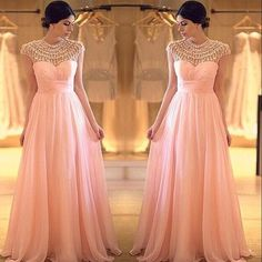 Stunning bridesmaid gown inspiration! I just love everything about it. | MySweetEngagement.com