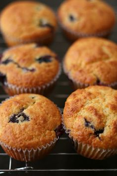 Orange Blueberry Muffins: I'd like to try this with dried cranberries instead of blueberries