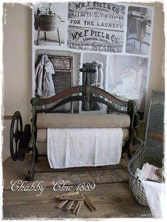 Wäschemangel, Shabby Chic, Chabby Chic1889