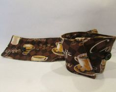Coffee Cozy With Vintage Button and Elastic Clasp - Edit Listing - Etsy