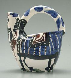 picasso ceramics catalog | lot 762 762 picasso ceramic jug view catalog