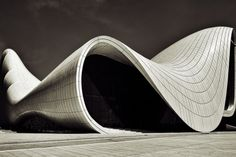 Haydar Aliyev Cultural Center. Zaha Hadid. photo by Boris Gurevich