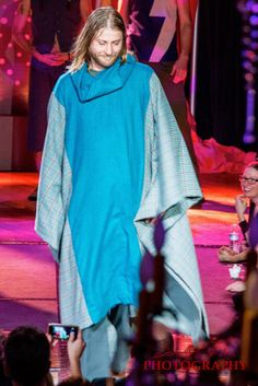 Wool Poncho with Cowl Neck Oneofakind Festival by SuperSugarRayRay, $375.00
