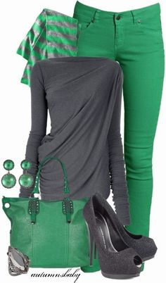 Green - shop this look