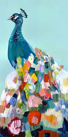 """Unique & Affordable Artwork¦Selling Art like Starla Michelle Halfmann's """"Floral Peacock"""" Responsibly Art And Illustration, Illustrations, Peacock Painting, Peacock Art, Peacock Dress, Feather Dress, Peacock Drawing, Peacock Colors, Peacock Feathers"""