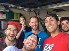 Mark with team edge, Matt, and Ryan!