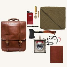 MAN OF THE WORLD - INTO THE WILD COLLECTION - LEATHER BACKPACK - MAN of the WORLD Online Destination for Men's Lifestyle - 1
