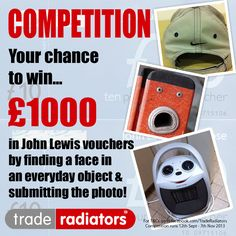 Your chance to win £1000 in John Lewis vouchers!