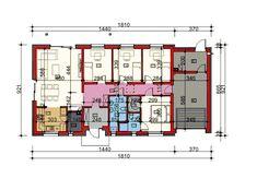 Rzut HP SMART B CE Home Technology, Dream House Plans, Prefab, Home Goods, Floor Plans, Cabin, How To Plan, Small Houses, Design