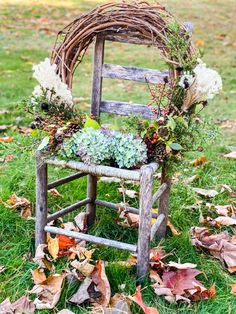 Foraged Fall Wreath - Cottage On Bunker Hill