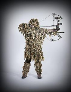 Four Ways to Customize Your Gillie Suit For Bowhunting | Field & Stream