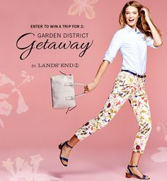 Enter and you could win a Getaway to the Garden District in New Orleans! Sweepstakes ends March *Daily Entry* Free Sweepstakes, 2015 Fashion Trends, Win A Trip, Easter Outfit, Enter To Win, Love Is Free, Lands End, New Orleans, Giveaway