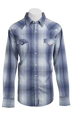 Wrangler® Men's Retro Snap Plaid Western Shirt MVR148M | Cavender's Boot City